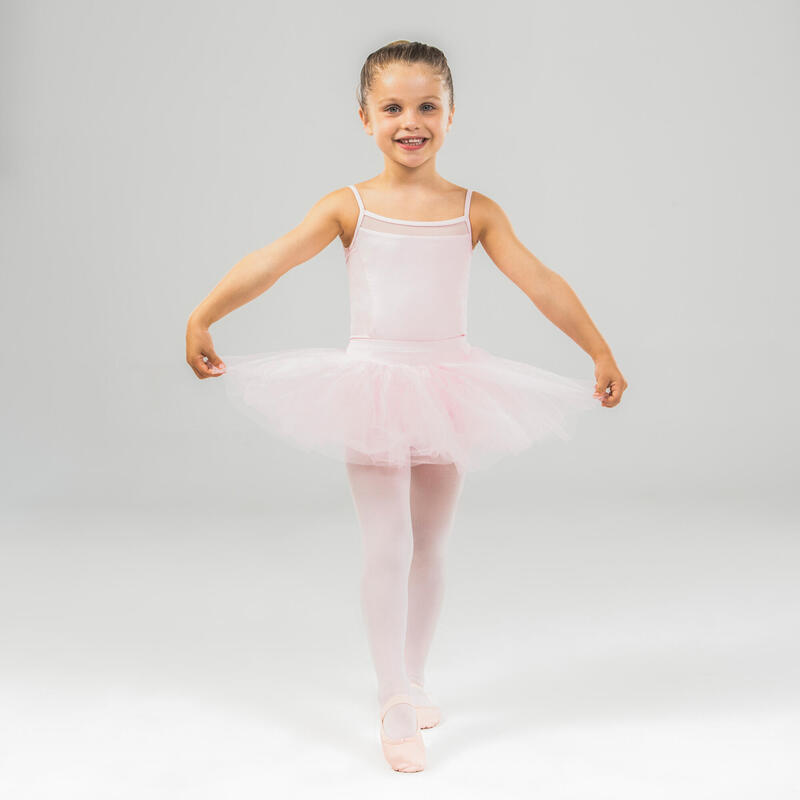 Tutu platou balet roz fete
