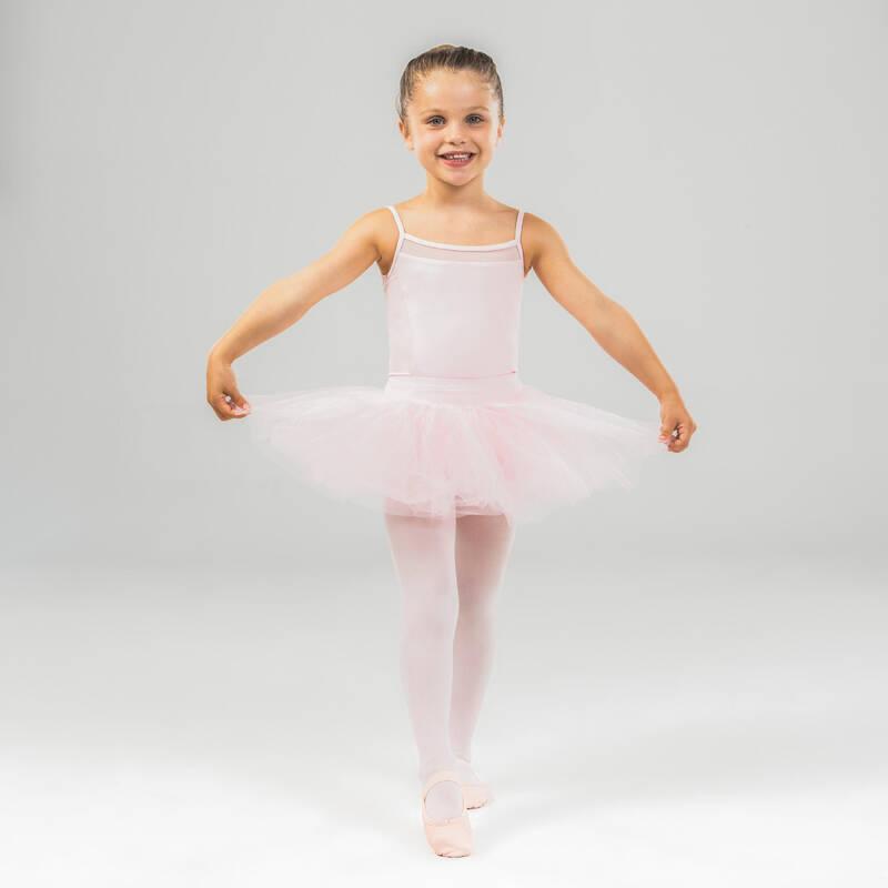 DÍVČÍ TRIKOTY, OBLEČENÍ NA BALET Balet - BALETNÍ TUTU SUKNĚ RŮŽOVÁ STAREVER - Baletní oblečení