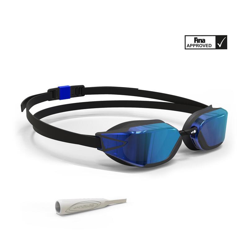 Occhialini nuoto B-FASTa specchio blu