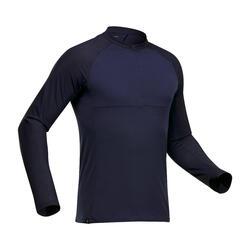 Men's long sleeved Odourless T-shirt - Tropic 500 - Blue