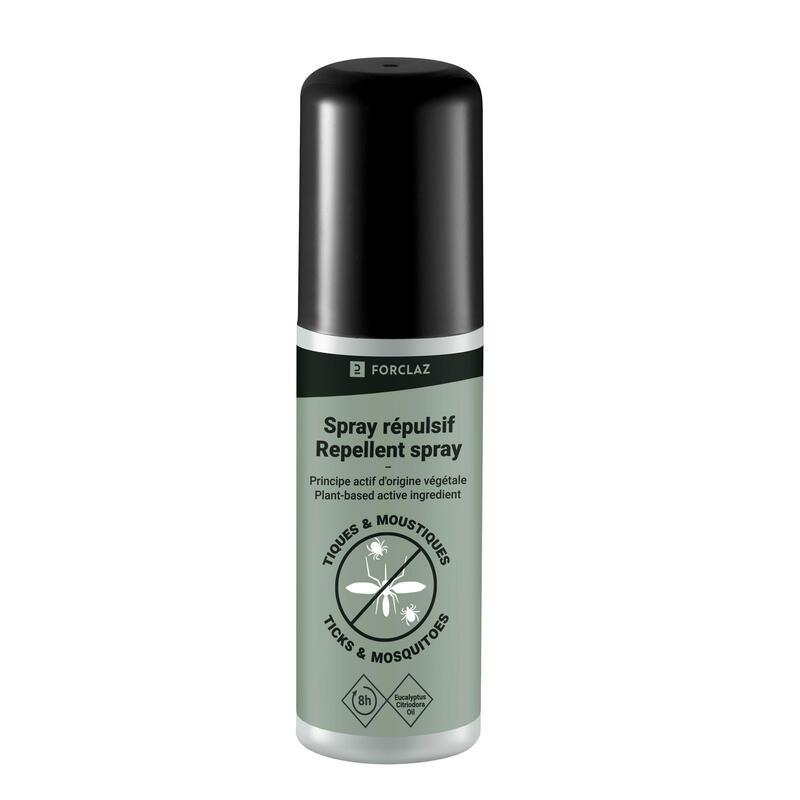Spray repelente antimosquito y garrapata aceite esencial de eucalipto 100 ml