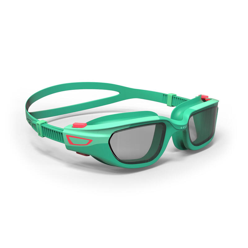 Gafas Natación Spirit Verde/Rosa Cristales Claros Talla Infantil