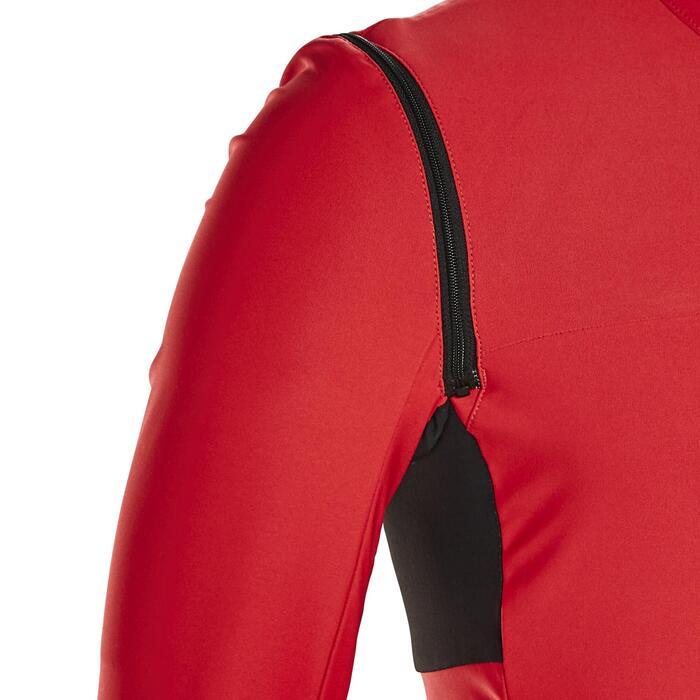 RCR Convertible Road Cycling Jacket - Red