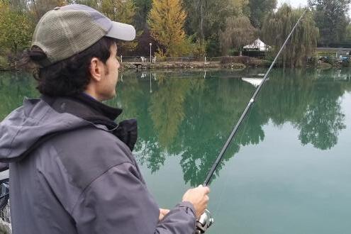 Come iniziare a pescare la trota in lago?