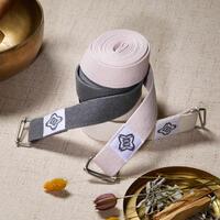 Sangle de yoga en coton biologique