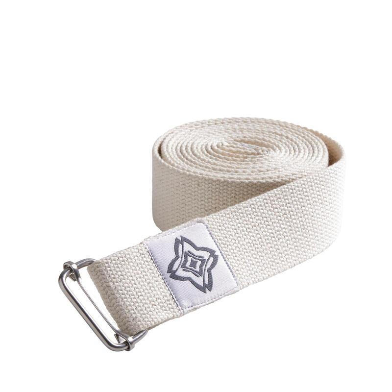 Organic Cotton Yoga Strap - Beige