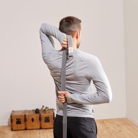 Organic cotton yoga strap