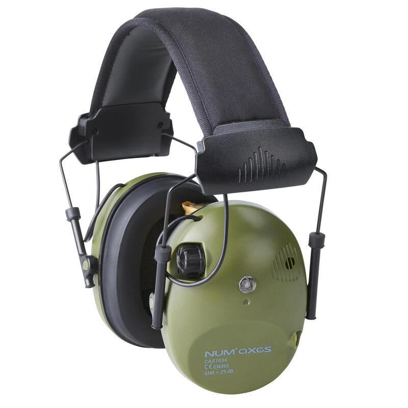 Casque électronique anti - bruit Num Axes CAS1034 vert