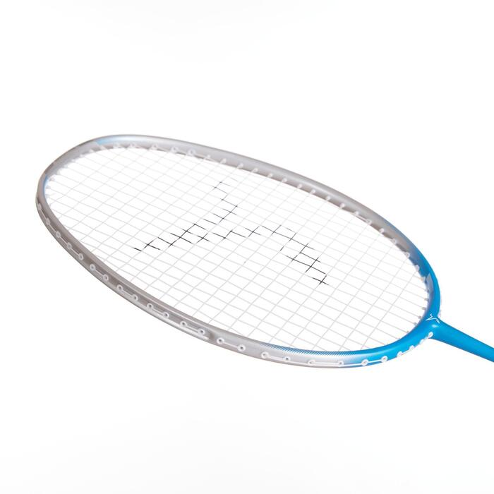 ADULT BADMINTON RACKET BR 190 SILVER BLUE