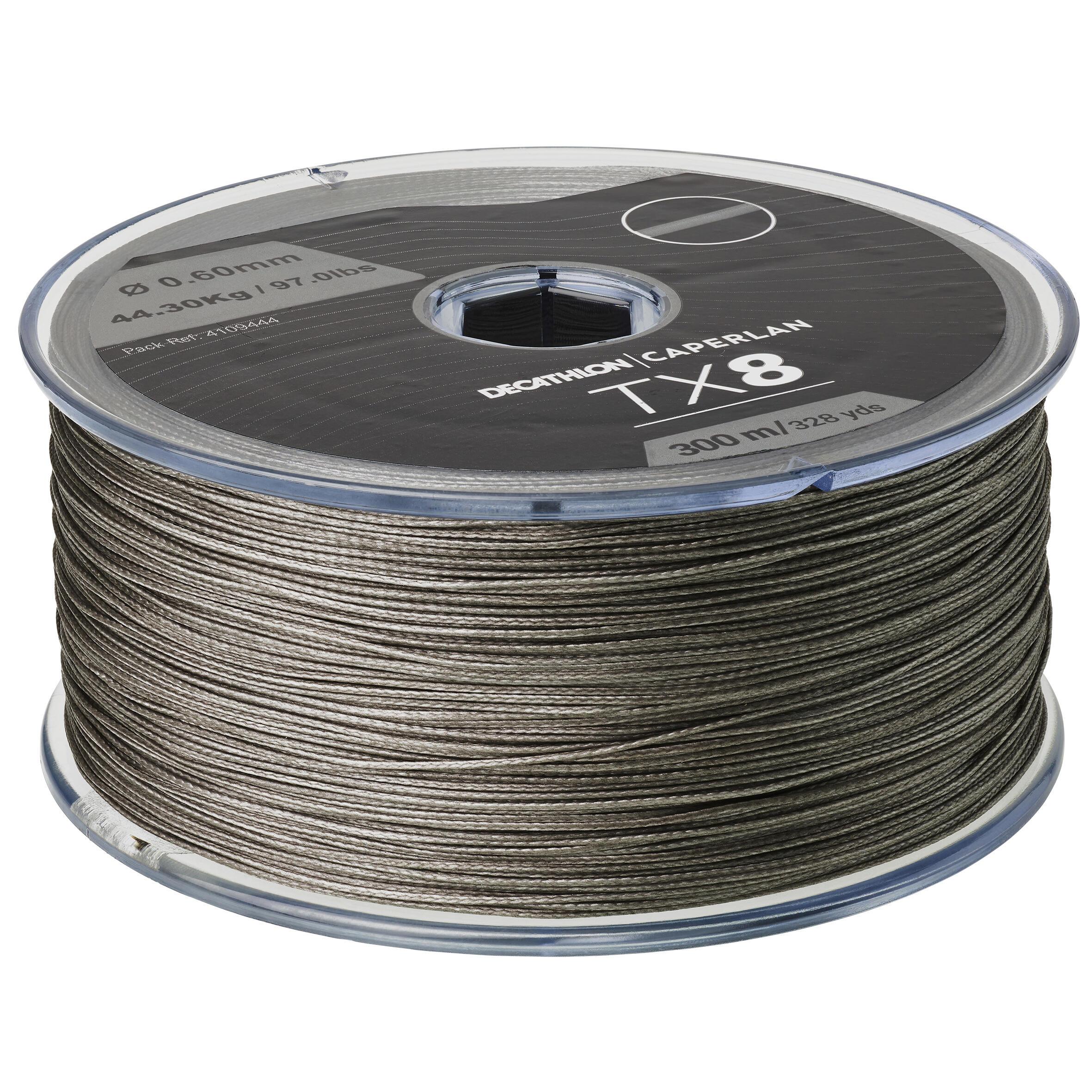 Fir textil TX8 GRI 300M 60/100 imagine produs