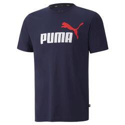 T-shirt voor heren Puma marineblauw