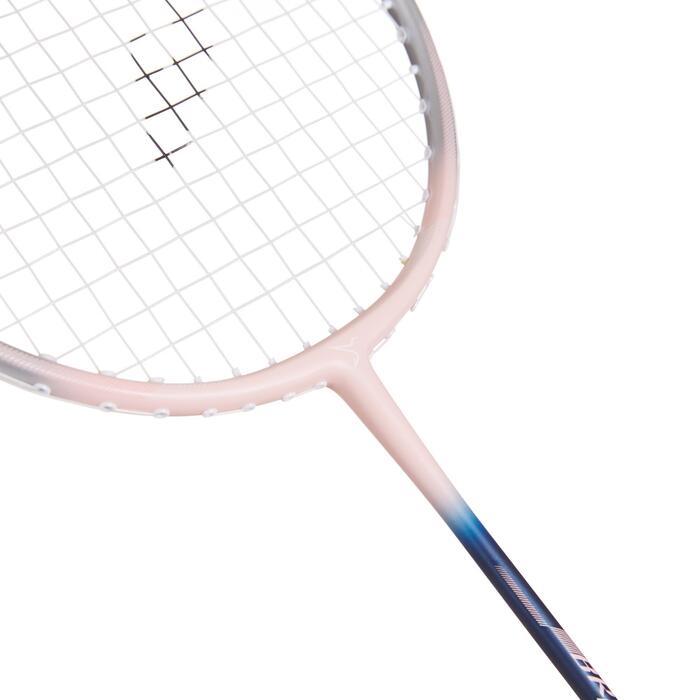 成人款羽球拍組BR 190紫羅蘭色配粉紅色