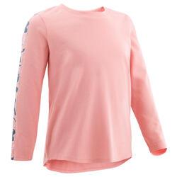 Camisola de Ginástica para Bebés Menina e Rapaz 100 Rosa/Azul