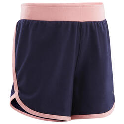 Shorts anpassbar atmungsaktiv Babyturnen marineblau