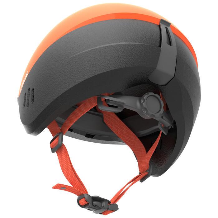 Casque de ski / luge 2 en 1 bébé XXS / 44 - 49 cm orange