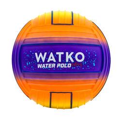 Wasserball groß Schwimmbad Sunset orange