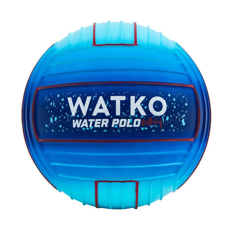 Grote zwembadbal met grip Space blauw