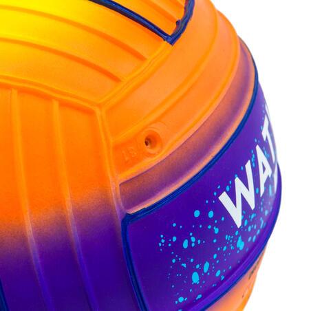 LARGE POOL BALL - SUNSET ORANGE