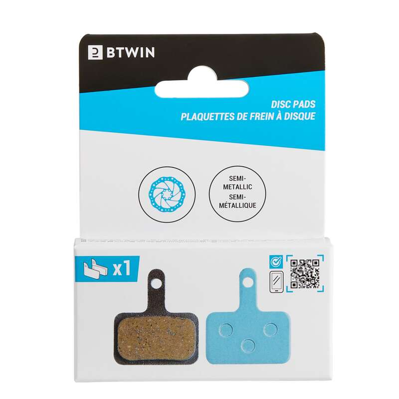 Fékek Kerékpározás - Tárcsafékbetét Shim/Tektro A  BTWIN - Alkatrész, tárolás, karbantartás
