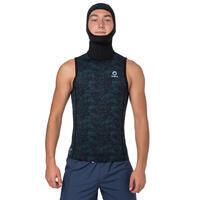 Neoprene hooded scuba diving SCD top 3/2 mm