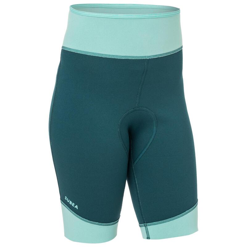 Kids' neoprene snorkelling shorts SNK 500 JR