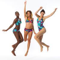Haut de maillot de bain brassière de surf femme réglable dos BEA LOVINA BLEUE
