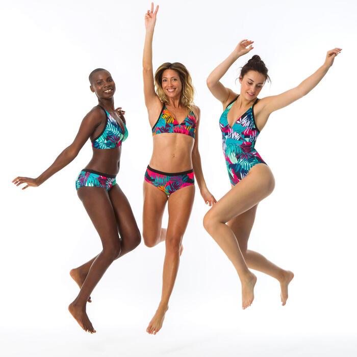 Top de Bikini de surf Mulher Ajustável Costas Bea Lovina Azul
