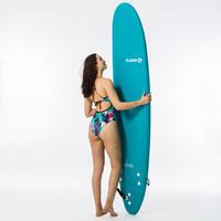 Maillot de bain de surf 1 pièce femme avec double réglage dos BEA LOVINA bleu