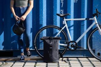 zoom sur un vélo de ville