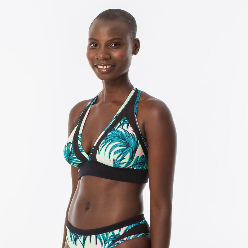 Haut de maillot de bain brassière de surf femme dos réglable ISA PRESANA