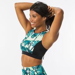 女款比基尼上衣(附背部拉鍊設計及可拆式襯墊罩杯)CARLA presana
