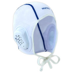 Waterpolocap voor volwassenen 900 wit