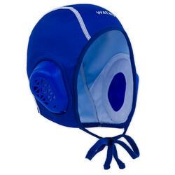 Waterpolocap voor volwassenen 900 blauw