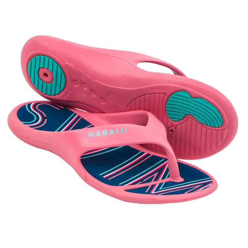Uszodai papucs Úszás, uszodai sportok - Női uszodai papucs Tonga 500  NABAIJI - Úszás felszerelés
