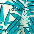 RUČNÍKY A PONČA Surfing a bodyboard - DĚTSKÉ PONČO 550 LEAF OLAIAN - Obuv, osušky a doplňky k vodě