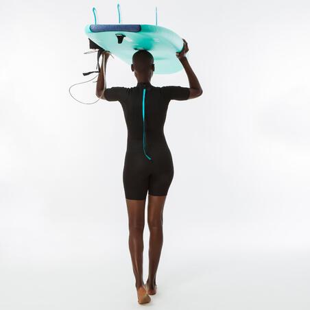 100 1 5 Mm Neoprene Surf Shorty Wetsuit Black Women S Decathlon Surf girls beach girls beach bum beach hair surfboard hot surfers surf 2 professional surfers surf city. 100 1 5 mm neoprene surf shorty wetsuit black women s