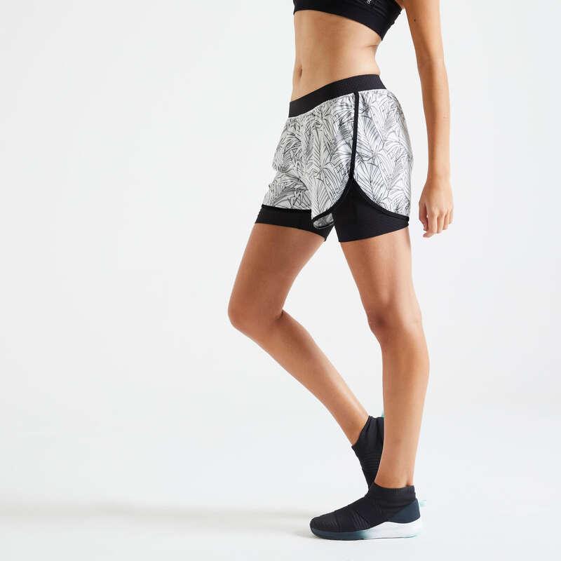 Fitnesz Cardio Női ruházat haladó Fitnesz - Női rövidnadrág FST 900 DOMYOS - Fitnesz ruházat és cipő