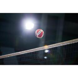 Ballon de volley-ball V900 blanc/rouge