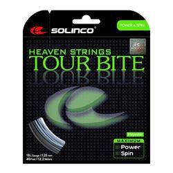 CORDAGE DE TENNIS MONOFILAMENT SOLINCO Tour Bite 1,25mm 12 M GRIS