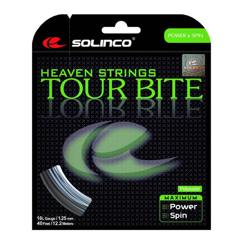 TENISOVÉ VÝPLETY RAKETOVÉ SPORTY - VÝPLET TOUR BITE 1,25MM 12M SOLINCO - Badminton