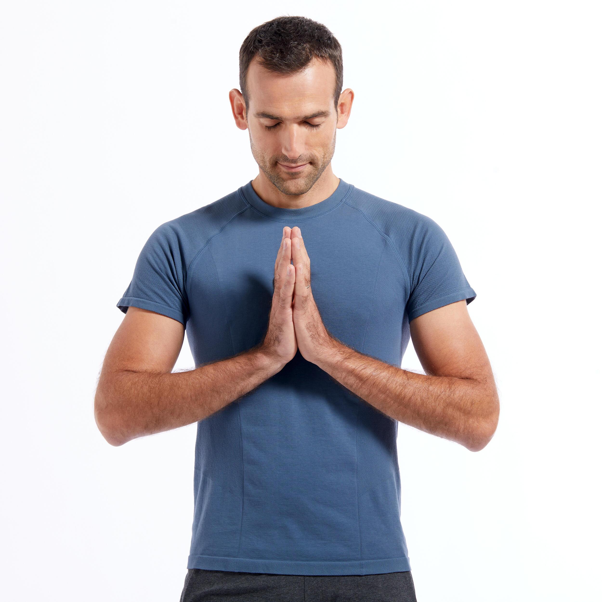 Tricou Yoga Ușoară Bărbați imagine