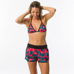 Women's surfing boardshorts with elasticated waistband & drawstring TINI PRESANA