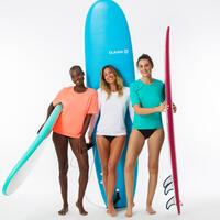 WATER T-SHIRT anti-UV short sleeve turquoise-women's