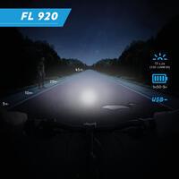 Lumière de vélo avant et arrière DEL USB FL920