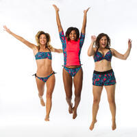 SABI WAKU women's swimsuit bottom notched and knotted
