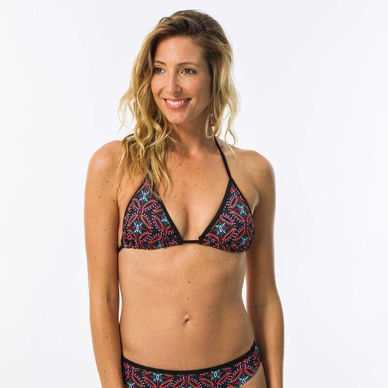 Női fürdőruha alkalmi szörfözéshez Strand, szörf, sárkány - Női bikinifelső Mae Sama  OLAIAN - Bikini, boardshort, papucs