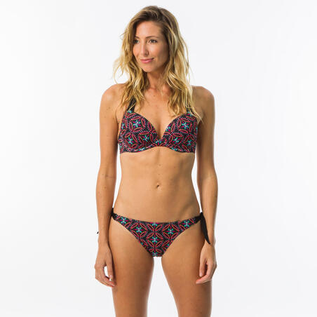 SABI SAMA women's swimsuit bottom notched and knotted