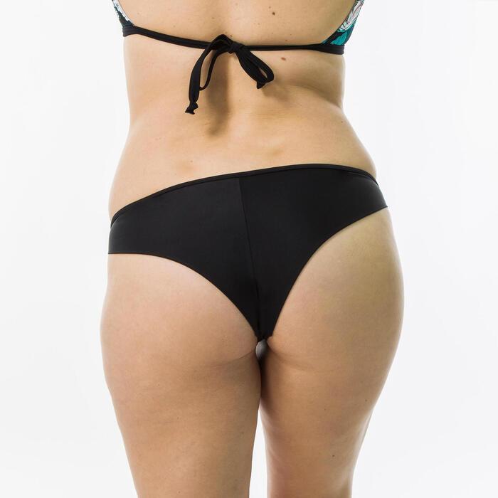 Culotte tanga Lulu noire très échancrée