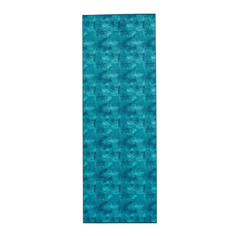 Fitness Yoga Mat (8mm) Jungle Blue Print - Kimjaly