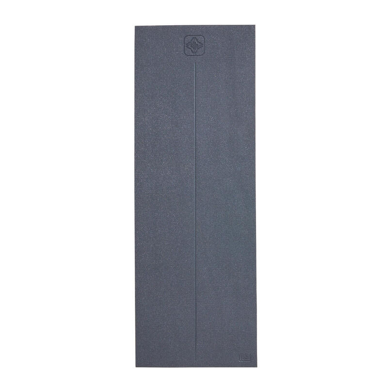 8 mm Comfort Gentle Yoga Mat - Grey